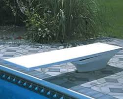 inground pools with diving board and slide. Flyte Deck Diving Board. In-Ground Pool Fun And Features Inground Pools With Board Slide