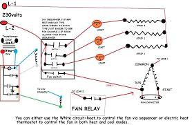 hvac fan relay diagram wiring diagram user
