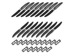 RC Propellers <b>5030 5x3</b> Inch 2-Vane Quadcopter for Airplane Toy ...