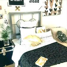 Black White Gold Bedroom And Room Accessories Decor Rose Ideas W