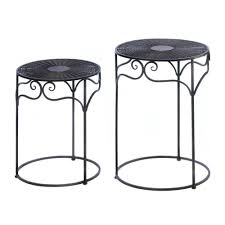 nested tables round outdoor nesting tables round nesting coffee tables accent nesting tables