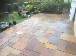 patio slabs. Image Is Loading Raj-Blend-Indian-Natural-Sandstone-Paving-Garden-Patio- Patio Slabs P