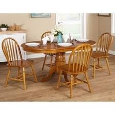 for simple living farmhouse 5 or 7 piece oak dining set get free farmhouse dining table