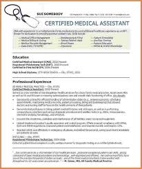 cma resume sample professional medical assistant resume 16 free
