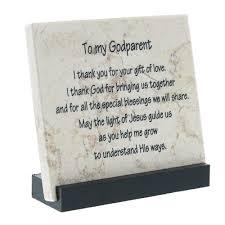 Godparent Prayer Stone The Catholic Company