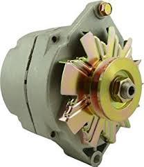 amazon com alternator for case john deere komatsu 24 volt 0 120 high amp alternator 24v new delco style marine alternator fits 1 wire 100 amp 7129
