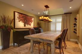 image of rustic farmhouse dining table wood
