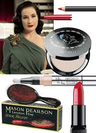 dita von teese must have beauty s