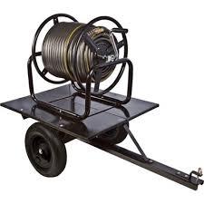 ironton trailered garden hose reel