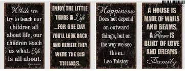 wooden wall art inspirational quotes