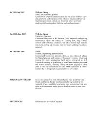 Personal Interest Resume Cv Hobbies And Interest Section Cover Letter And Resume