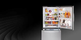 lg refrigerator parts door shelf. front view of an lg refrigerator with a bottom freezer. lg parts door shelf o
