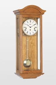 axford mechanical wall clock in light