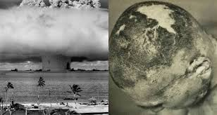 The cloud top rose and peaked at 130,000 feet (almost 40 km) after only six minutes. How Bikini Atoll Was Ruined By Castle Bravo And Operation Crossroads