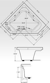 corner bathtub dimensions standard. corner jacuzzi tubs dimensions bathtub standard l