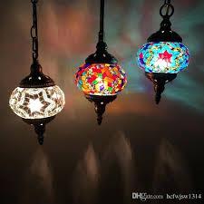 chandelier nightlight 3 headboard restaurant chandelier bar balcony porch handmade romantic glass decoration chandelier turkey hollow