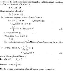 ncert exemplar problems class physics alternating current  ncert exemplar problems class 12 physics alternating current