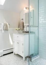 penny tile bathroom floor ideas bathroom traditional with glass shower enclosure medicine cabinets bathroom storage