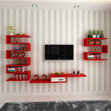 Small Picture Fashion clapboard wall shelf TV wall decoration wall TV set top