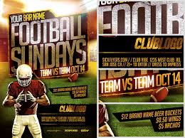 Nfl Flyer Template - Beste.globalaffairs.co