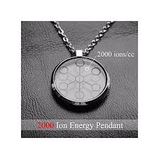 refined high ion quantum pendant scalar energy stainless steel necklace chain via