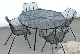 metal mesh patio chairs. Iron Mesh Patio Table Metal Chairs A