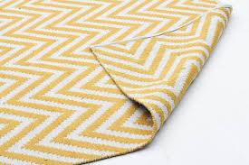 yellow chevron rug 5x7