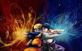 Naruto and Sasuke Wallpaper - EnJpg