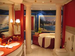 Spa Bathroom Suites Has An Adjoining Marble Bathroom With Spa Bath And Walk In Shower
