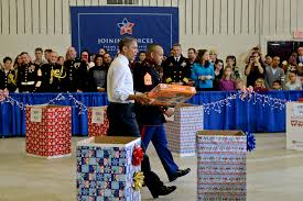 president first lady encourage toys for tots donations