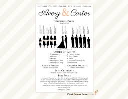 Free Microsoft Word Wedding Program Template 027 Free Downloadable Wedding Reception Program Templates