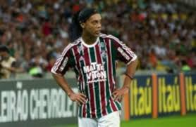 It looks like the end of the road for Ronaldinho -- football's ultimate  entertainer