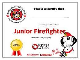 Firefighter Certificate Templates Magdalene Project Org