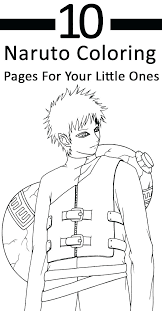 Naruto Coloring Sheets Coloring Sheets Pages Children Page Printable