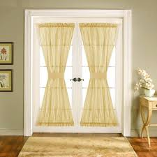furniture decorative sheer curtains for french doors united french door curtain panels um size of crushed