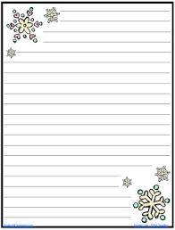 Christmas Writing Paper Template Free The Amazingclassroom Com Blog Free Snowflake Journal Writing Paper