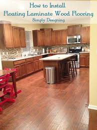 Cork Floor In Kitchen Pros And Cons Floating Floor Around Kitchen Cabinets Floating Floor