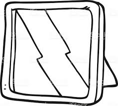 mirror clipart black and white. bizarre, book, clip art, coloring, coloring book. black and white cartoon mirror clipart