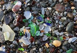 glass beach california by denis delestrac
