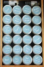 Kitchen Spice Organization Spice Organizer Idea How To Create A Mason Jar Drawer System