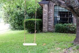 Tree Swing How To Make A Diy Wood Tree Swing Love Renovations