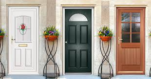 doors insulated exterior doors exterior wood doors white door with red rose glass accent black