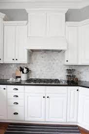 Interesting White Kitchens Backsplash Ideas Almost There Black Kitchen Countertopskitchens With On Creativity Design