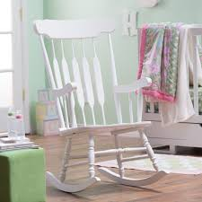 white wooden rocking chair. Belham Living Wood Nursery Rocker - White Indoor Rocking Chairs At Hayneedle Wooden Chair