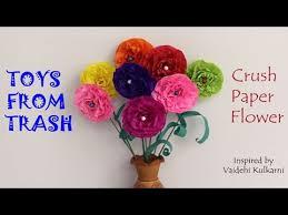 Paper Flower Lyrics Crush Paper Flower Kannada Youtube