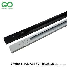 track lighting rail. 2017 1m led track light rail lighting fixture for universal rails 2 wire version straight corner 3 way 4 connector from i