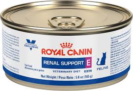 low protein cat food. Royal Canin Veterinary Diet Renal Support E Canned Cat Food, 5.8-oz, Case Of 24 - Chewy.com Low Protein Food W