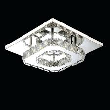 modern square chandelier gisela modern square crystal flush mount chandelier in chrome