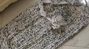 kitchen sink rag rug