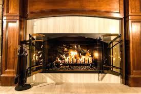 wood fireplace doors fireplace door with ultimate 5 gas log set wood doors cleaning glass wood